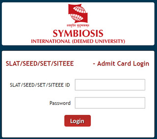 SET Symbiosis Admit Card