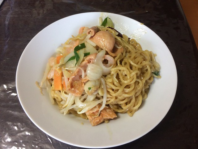 Ramen without Soup with HOSHIYAMA HORUMON