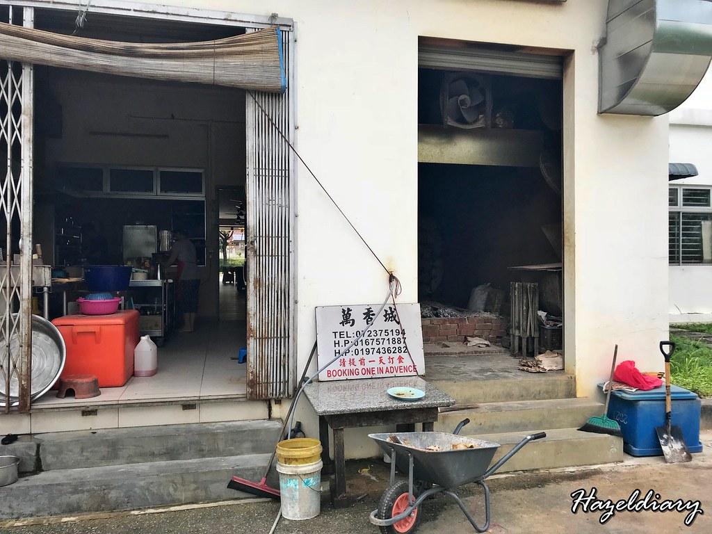 Ban Heong Seng Taman Impian Emas Johor Bahru-Back Kitchen