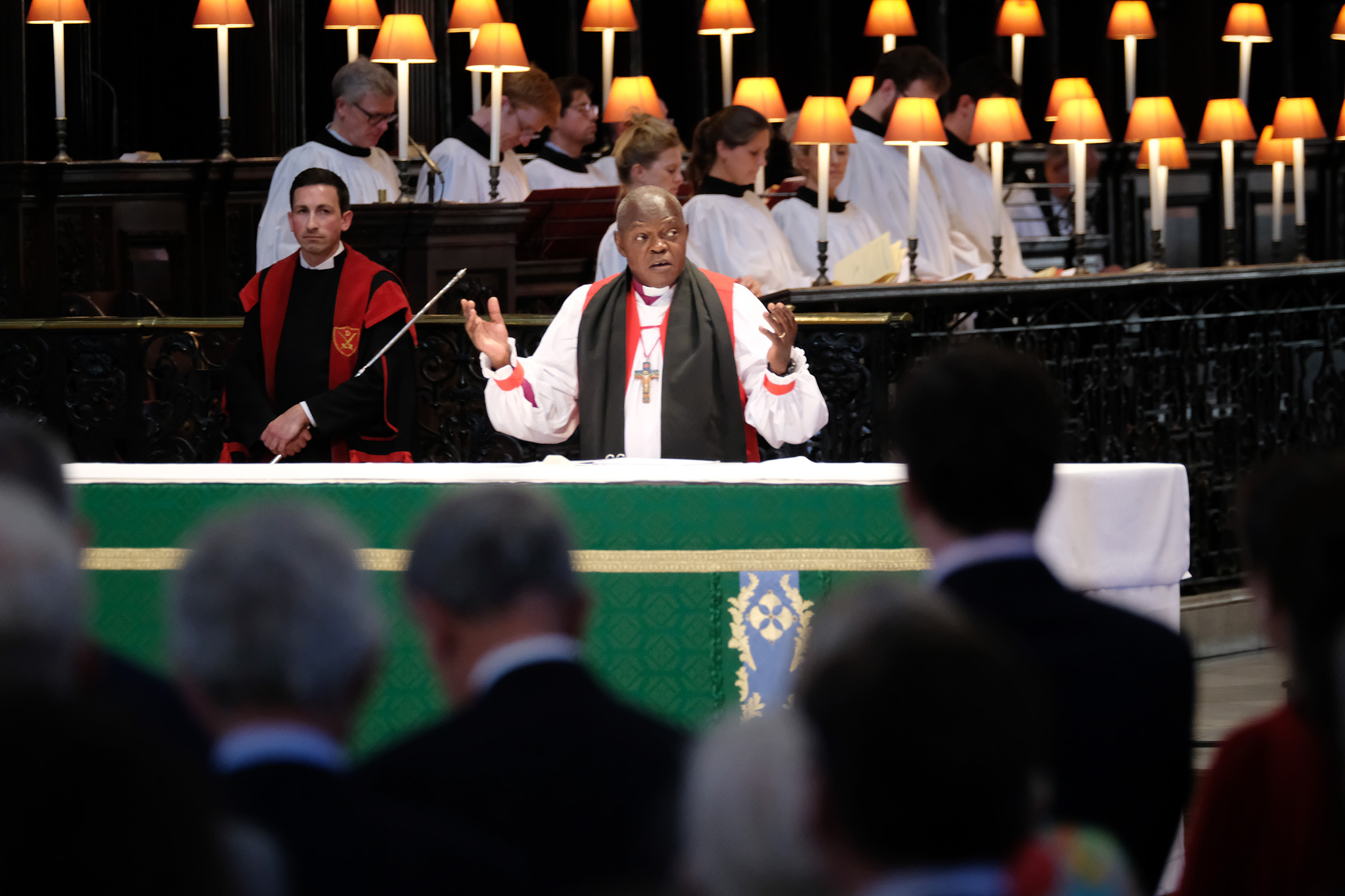 Most Rev and Rt Hon John Sentamu, Archbishop of York