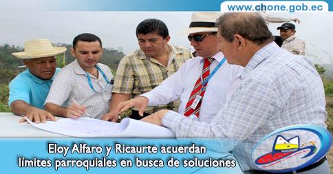 Eloy Alfaro y Ricaurte acuerdan límites parroquiales en busca de soluciones
