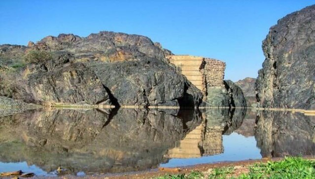 4571 The story of 'Muawiya Dam' in Taif and 6 sentences written on its walls 06