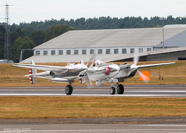 P-38 Lightning (The Flying Bull)