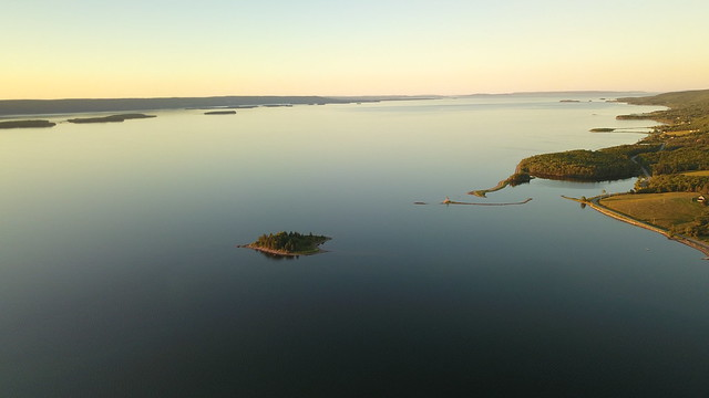 Sunset over Dundee, NS from DJI Mavic Pro