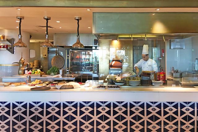 Al Maeda Restaurant's Open Kitchen