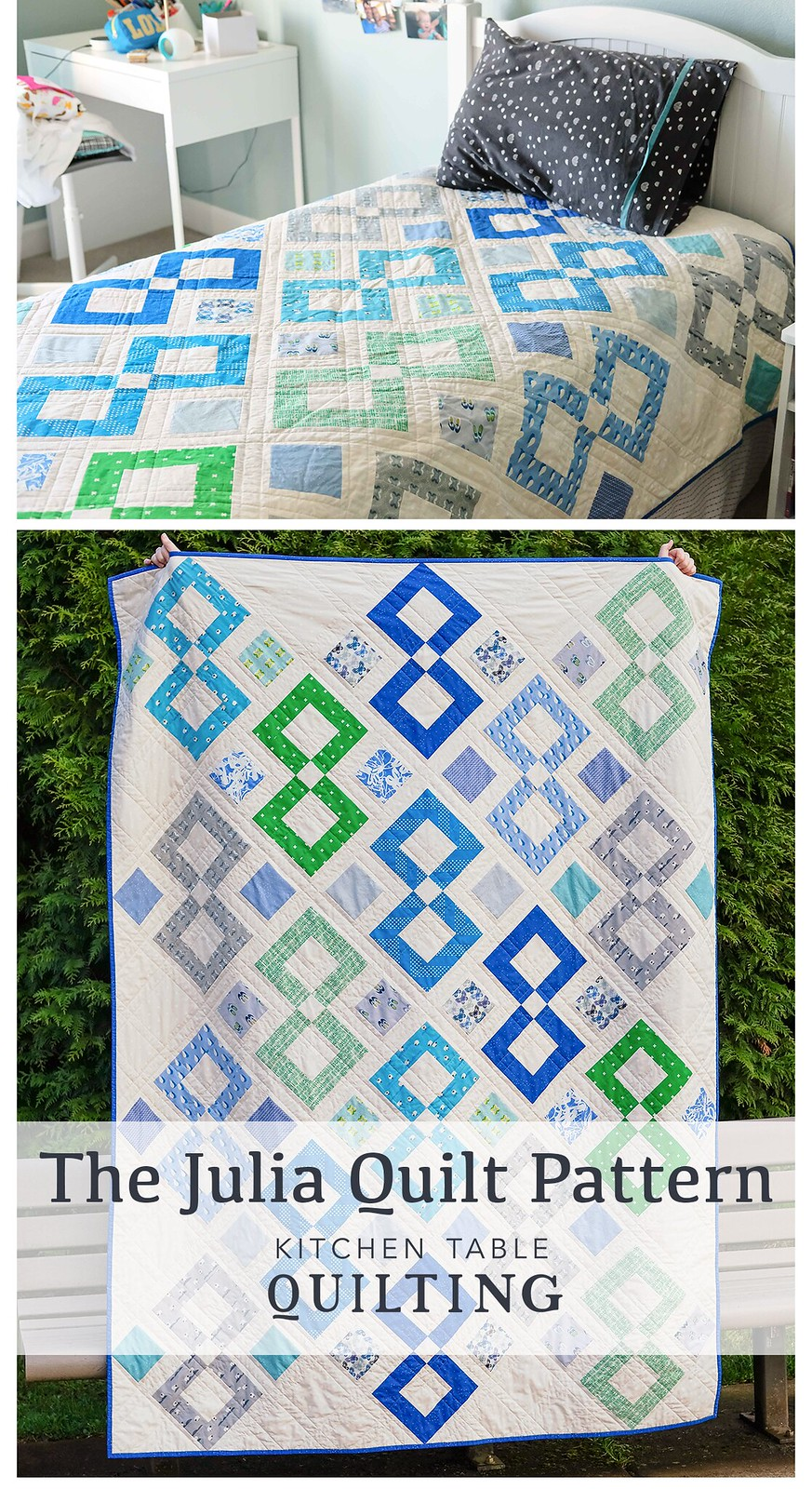 The Julia Quilt Pattern - Kitchen Table Quilting