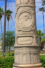 A Column at Tampa Union Station (1of 2)