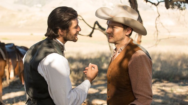 Logan and William - Westworld
