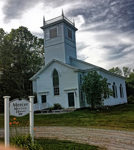 maine somersetcounty mercer us2 churches meetinghouse cemetery nationalregister nationalregisterofhistoricplaces