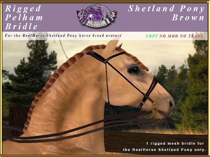 e-rh-Shetland-PelhamBridle-Brown - TeleportHub.com Live!