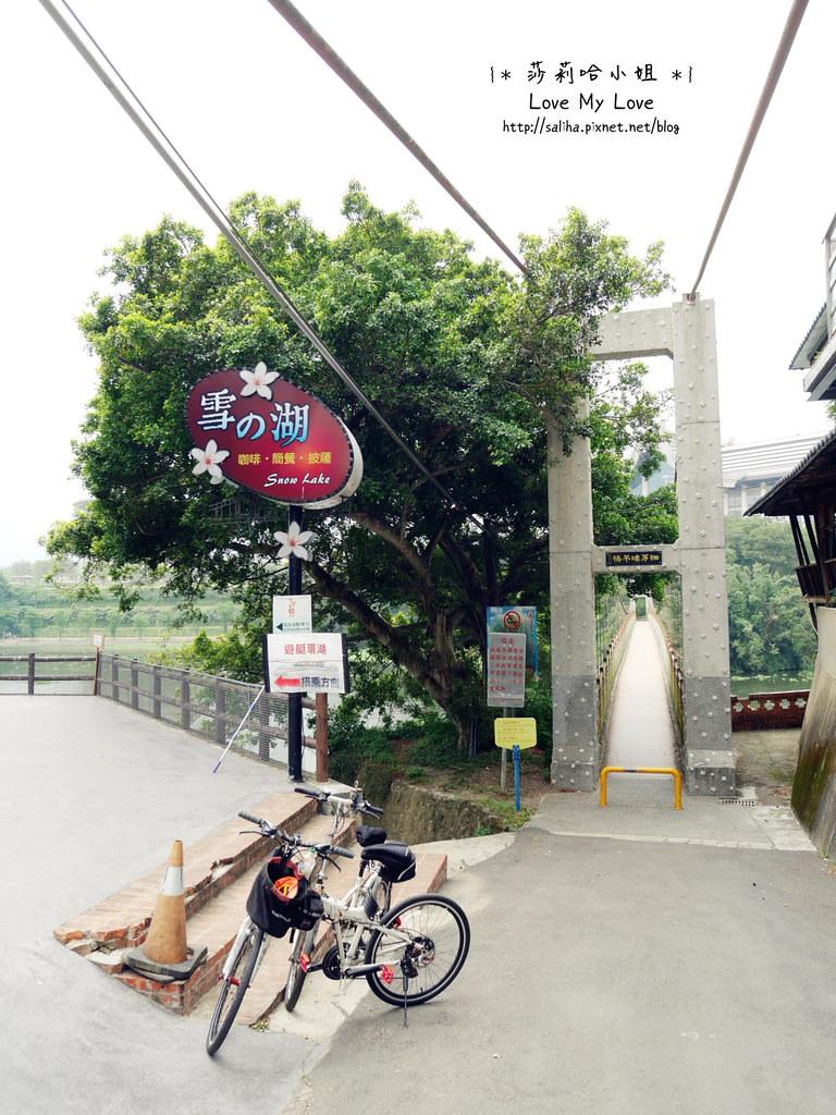 峨眉湖附近景觀餐廳推薦雪之湖咖啡停車