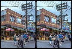 Tokyo or Toronto ? 3-D / CrossView / Stereoscopy / HDRaw