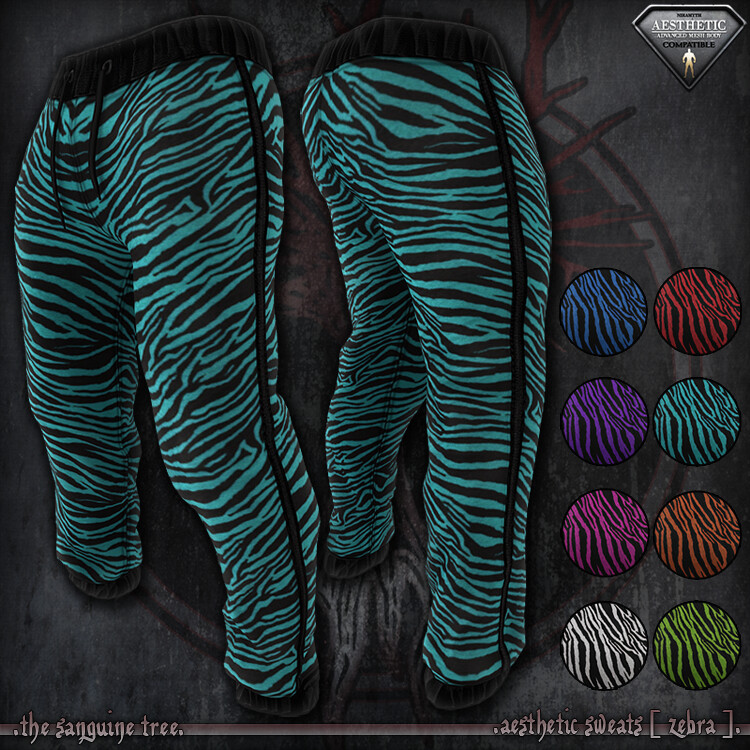 [ new release – aesthetic sweats [ zebra ]