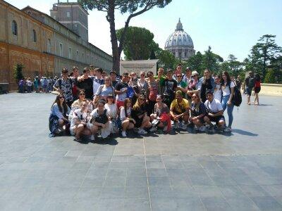Viaje de Estudios Roma-2018