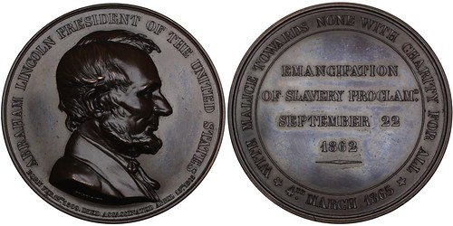 Lincoln Emancipation Proclamation Medal