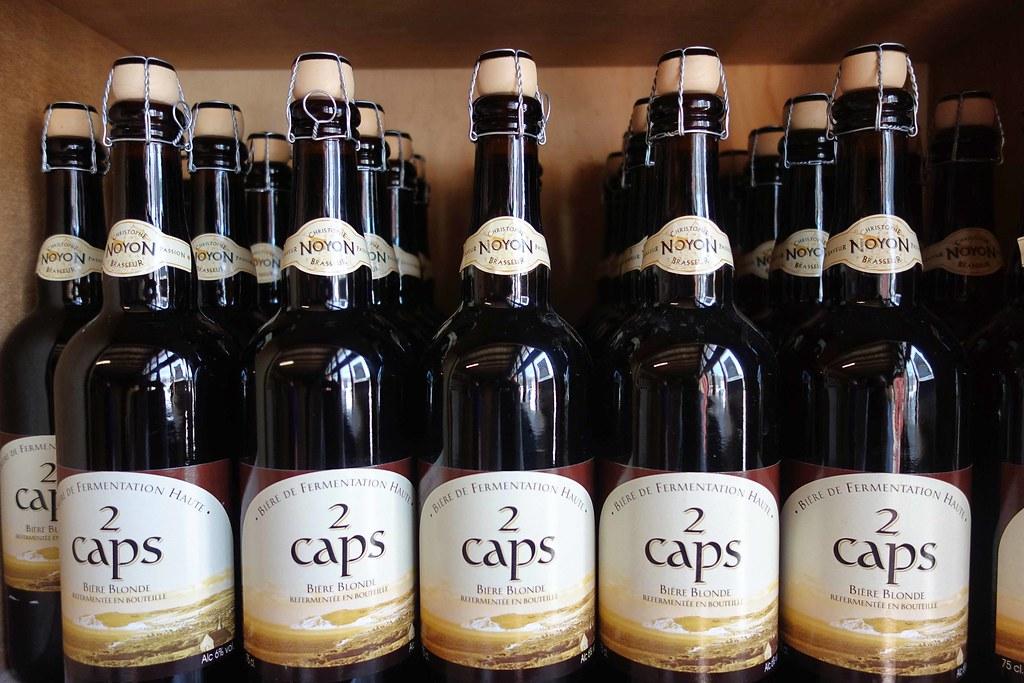 Brasserie des 2 caps, bouteilles de bière