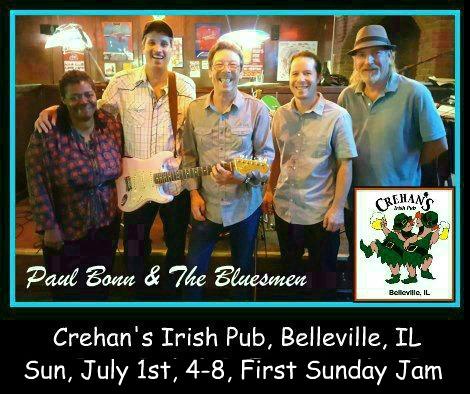 Paul Bonn & The Bluesmen 7-1-18