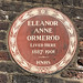 Eleanor Anne Ormerod lived here 1887 - 1901 HNHS