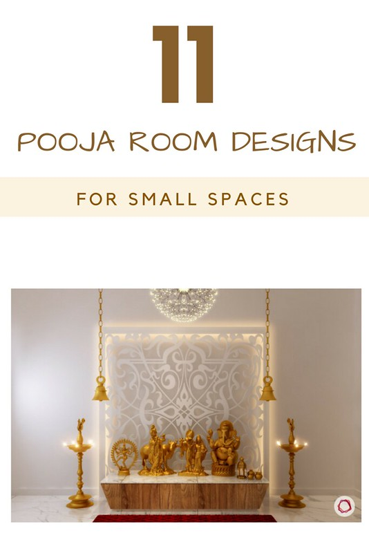 11 Pooja Room Designs For Small Apartments dress your home