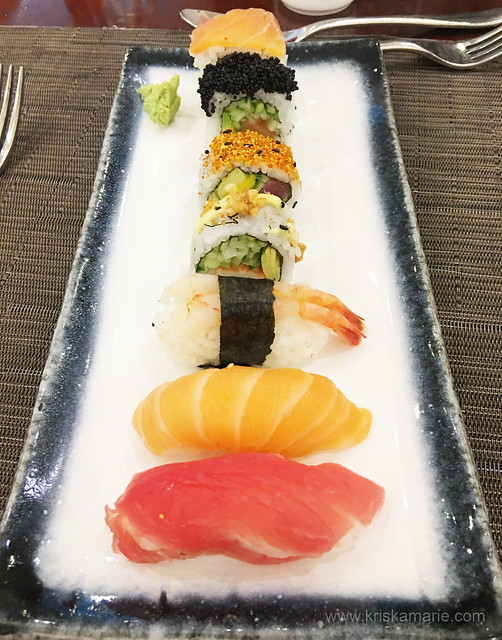 Sushi at The Art of Brunch