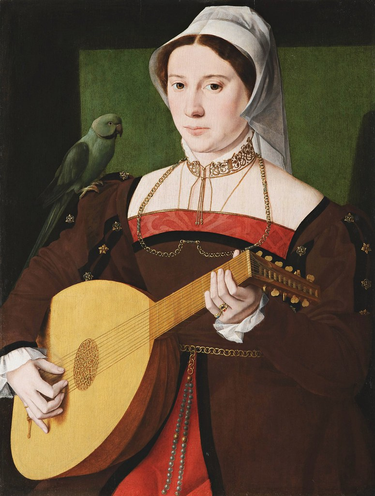 Master of the 1540s - Portrait of a woman