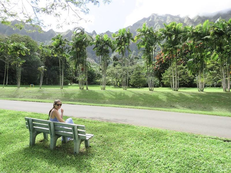 Hawaii Jardin botánico Hoomaluhia 6