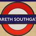 Gareth Southgate Underground Station
