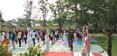International Yoga Day Mangaldai  Deomornoi Mangaldai Town Garukhuti Chapai Daahi Boreri