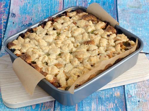 Gooseberry Crumble Cake (2)