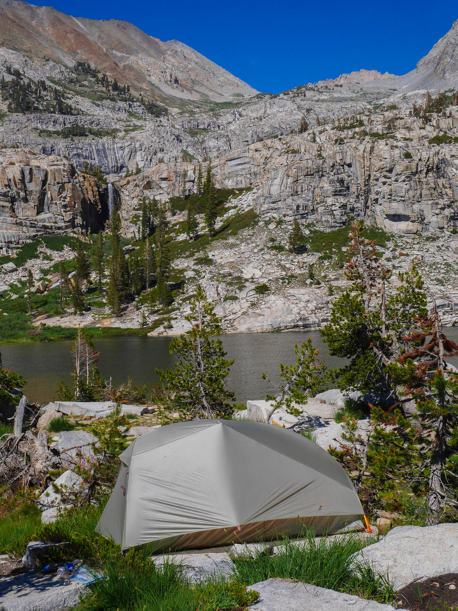 Camp at Tamarack Lake