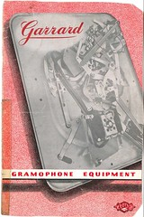 Gramophone Equipment Red