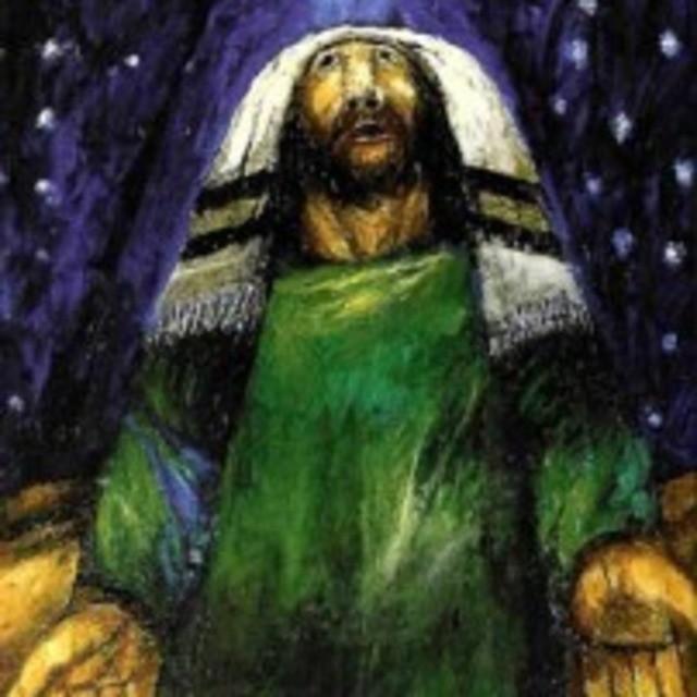 Sieger Köder, Abraham. Die Nacht von Hebron, Sieger Köder-Stiftung Kunst und Bibel, Ellwangen