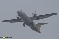 G-VZON - 853 - Aurigny Air Services - ATR ATR-72-500 - Donington - 180402 - Steven Gray - IMG_8530