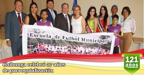 Chibunga celebró 27 años de parroquialización