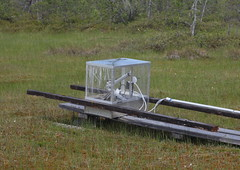 An automatic chamber for CO2 measurements temporary stopped