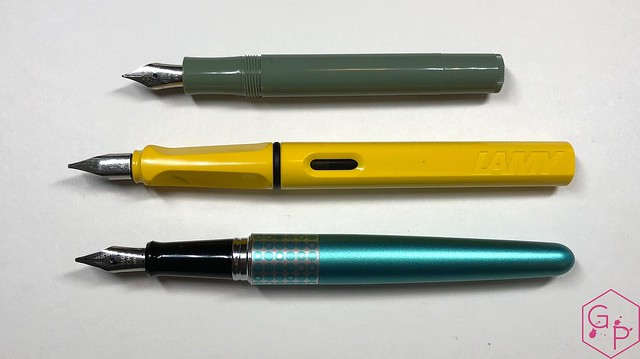 Kaweco x Milligram Skyline Sage Fountain Pen Review @Kaweco_Germany @MilligramStore 7