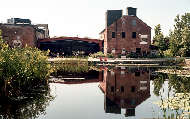 Reflected Brickworks in Colour