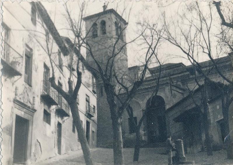 Iglesia de Santa Leocadia hacia 1962.Fotografía de Julián C.T.