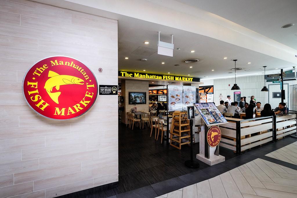 曼哈顿鱼市店面
