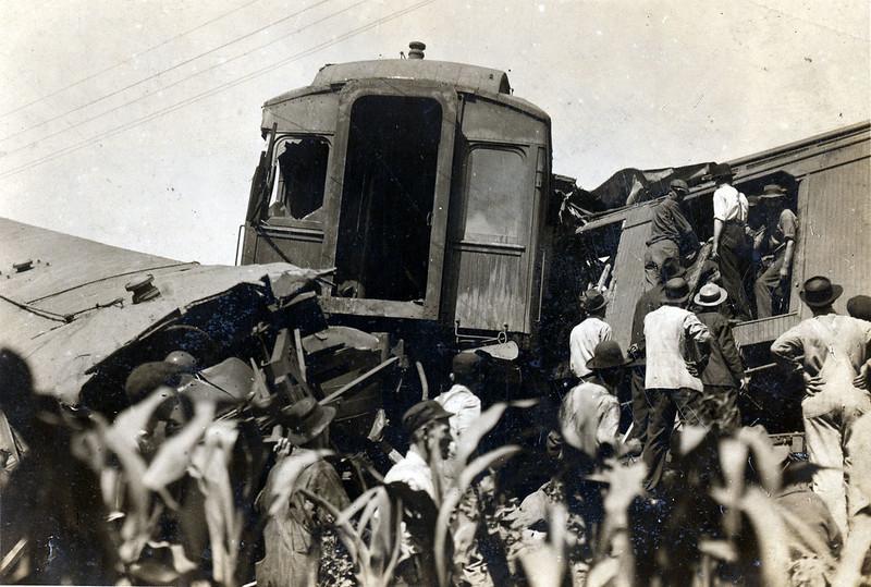 1918 Dutchman's Curve Train Accident
