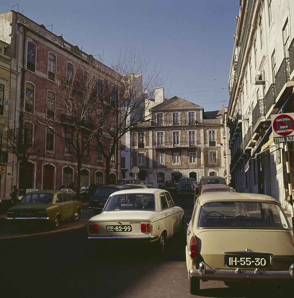 Largo da Abegoaria, Lisboa (Artur Pastor, 1973)