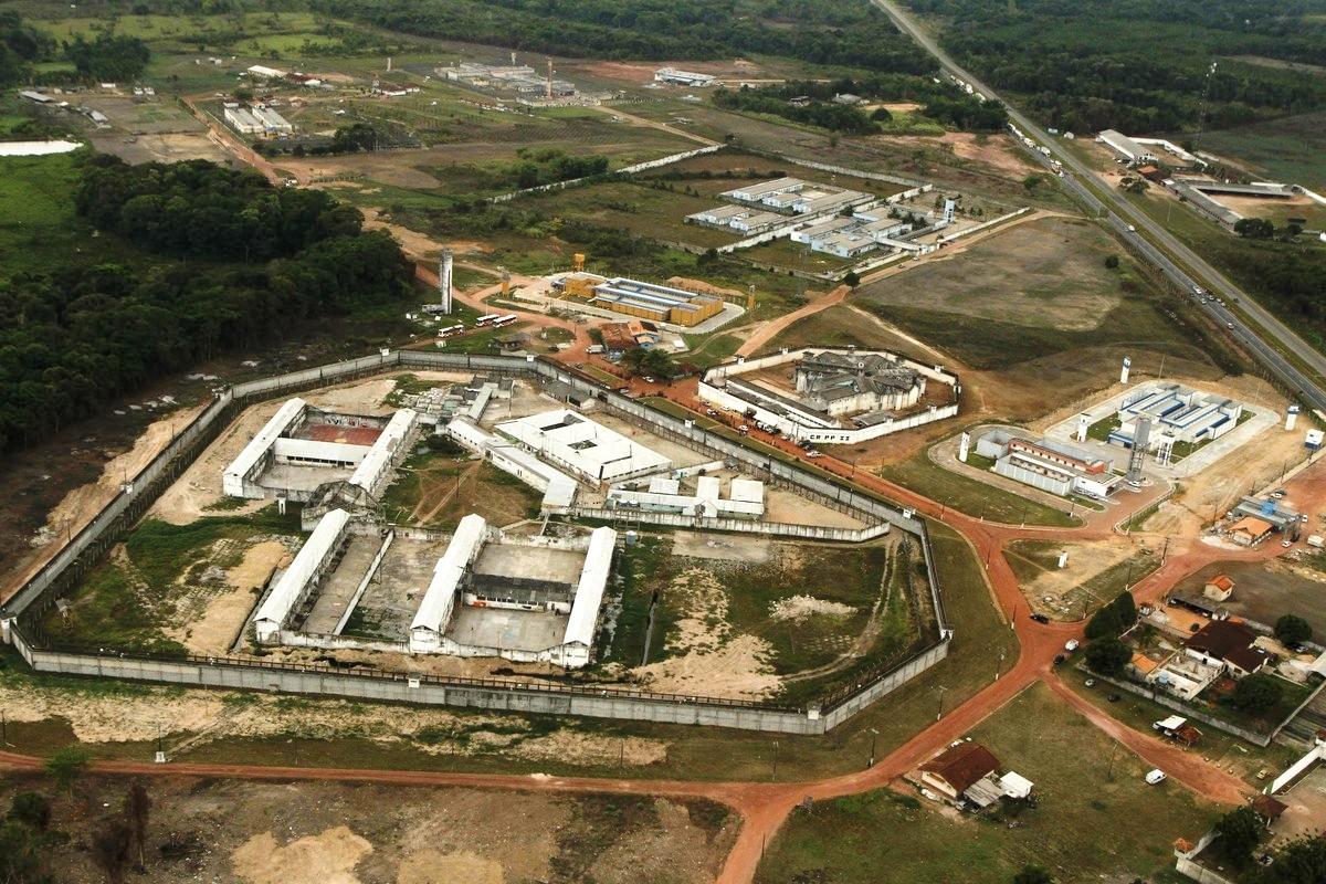 Sargento que matou mulher e feriu 3 é transferido para presídio em Santa Izabel, Complexo Penitenciário de Santa Izabel do Pará