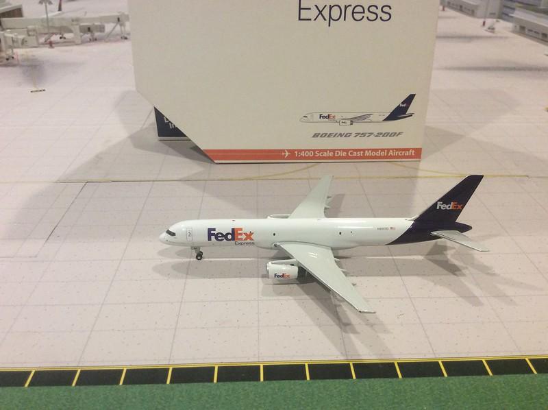 1:400 Gemini Jets Fed Ex B757-200F N901FD model - Airliners net