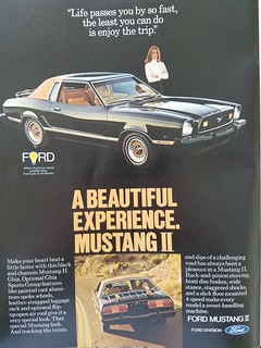 Ford Mustang II -  Car Magazine Advertisement - 1988