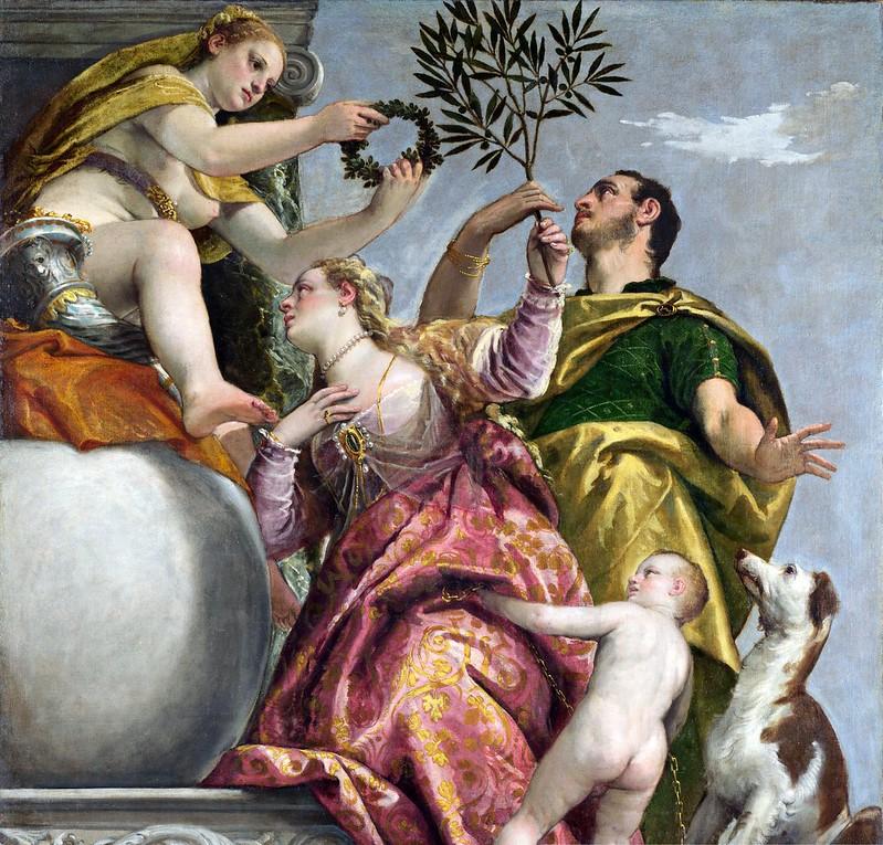 Veronese - Allegory of love Happy union