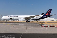 OO-SFX Brussels Airlines Airbus A330-343 Tomorrowland 2018 (FRA - EDDF