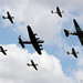 Battle of Britain Memorial Flight Trenchard Plus Formation - RIAT 2018 by stu norris