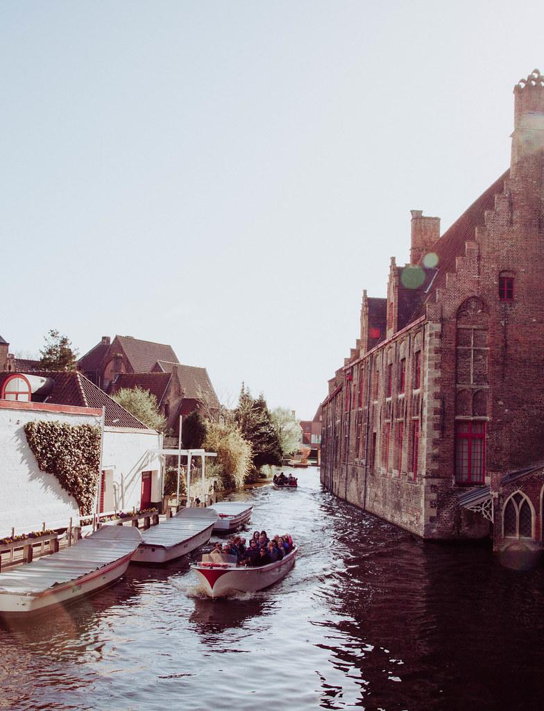 Bruges Belgium Canal Tour