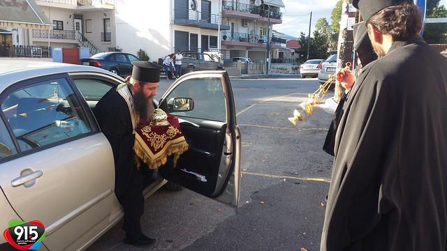 Το λείψανο του Αγίου Μοδέστου στην Τρίπολη