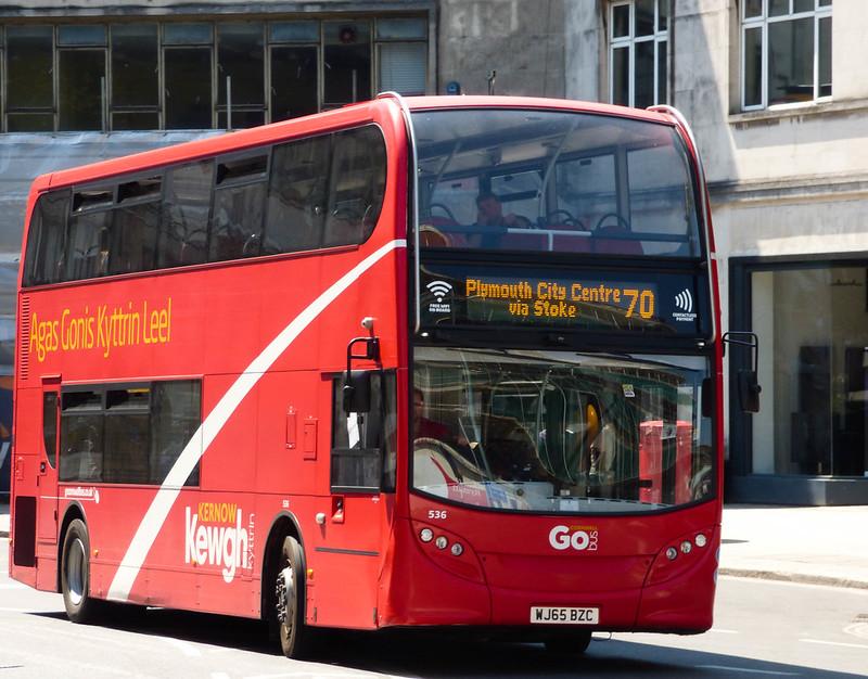 Plymouth Citybus 536 WJ65BZC